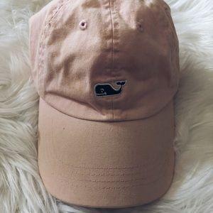 Vineyard Vines soft pink baseball cap